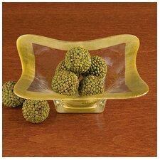 Square Leaf Decorative Bowl (Set of 2)