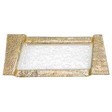 Rimini Decorated Glass Tray