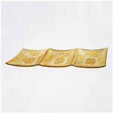 "Wave 16"" Rectangular Platter"