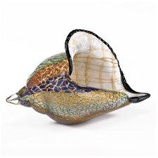 Firestorm Conch Shell Sculpture