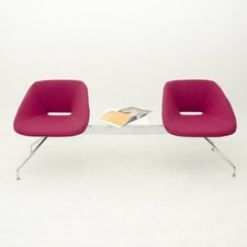 Red Two Seat Bench