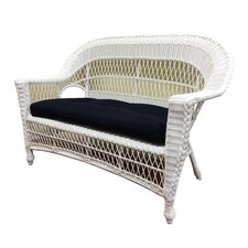 Madison Outdoor Wicker Loveseat
