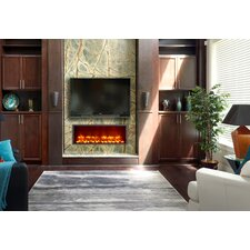 "35"" Built-in LED Electric Fireplace"