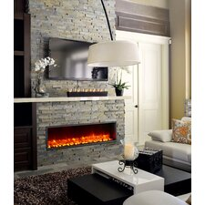 "55"" Built-in LED Electric Fireplace"