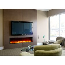 "63"" Built-in LED Electric Fireplace"