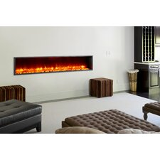 "79"" Built-in LED Electric Fireplace"