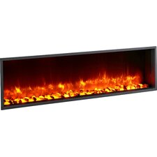 "55"" Built-in LED Wall Mount Electric Fireplace Insert"