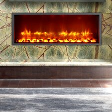 "35"" Built-in LED Electric Fireplace Insert"