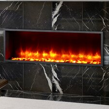 "44"" Built-in LED Electric Fireplace Insert"
