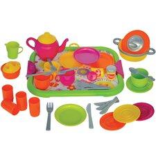 40 Piece Play Kitchen Set