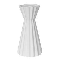 Quincy Pleated Vase