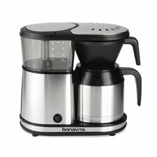 5 Cup Stainless Steel Carafe Coffee Maker
