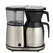 8 Cup Stainless Steel Carafe Coffee Maker