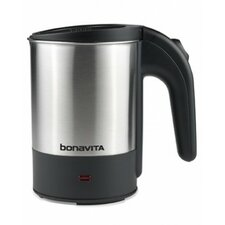 0.5L Stainless Steel Dual Voltage Travel Electric Kettle
