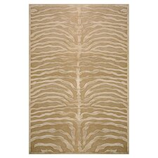 Saphir Ivory & Brown Area Rug