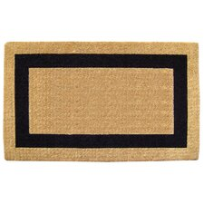 Single Picture Frame Doormat