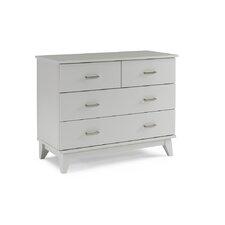 Moderna 4 Drawer Dresser