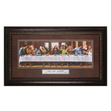 The Last Supper the Lord Framed Print Painting