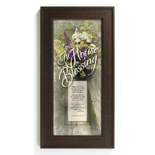 A House Blessing Framed Graphic Art
