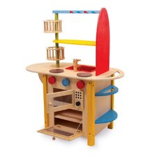 All-In-One Deluxe Play Kitchen