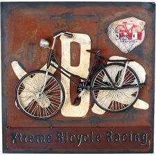 Wanddekoration Fahrrad