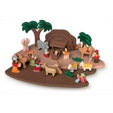 23 Piece Nativity Play Set
