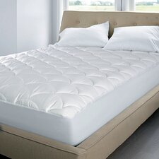 350 Thread Count Top Damask Dot Mattress Pad