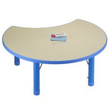 Kid's Moon Shaped Writing Table