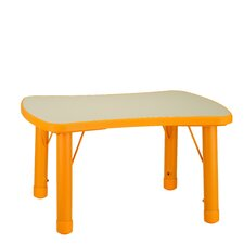 Soap Adjustable Height Classroom Table