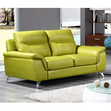 Chicago Leather Loveseat