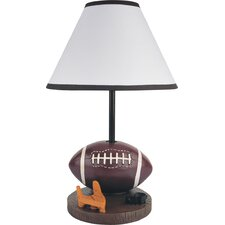 """Youth Football 15.75"""" H Table Lamp with Empire Shade"""