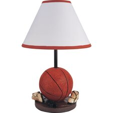 """Youth Basketball 15.75"""" H Table Lamp with Empire Shade"""