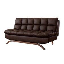 Lugo Plush Futon Sleeper Sofa