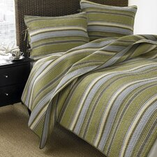 Fresno Quilt Set in Green