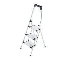 Living Comfort 3-Step Aluminum Step Stool with 330 lb. Load Capacity