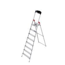 XXR 7.64 ft Aluminum Step Ladder with 330 lb. Load Capacity