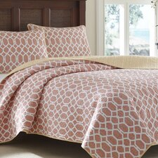 Catalina Trellis Quilt Set