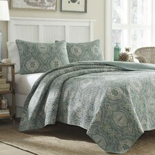 Turtle Cove Lagoon Quilt Set