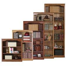 Classic Oak Open Standard Bookcase