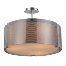 Lynch 3 Light Semi Flush Mount