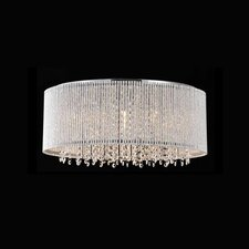 Crystalline 10 Light Crystals Chandelier