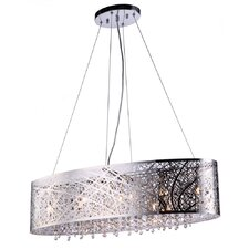 Royal 9 Light Kitchen Island Pendant