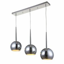 Wade Chrome 3 Light Pendant