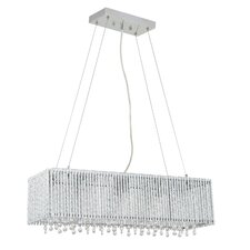 Crystalline 6 Light Crystals Chandelier