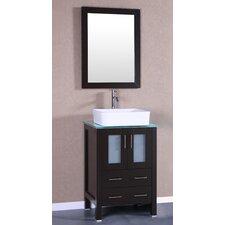 """24"""" Single Vanity Set with Mirror"""