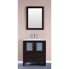 """30"""" Single Vanity Set with Mirror"""
