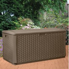 507 L Resin Wicker Storage Box