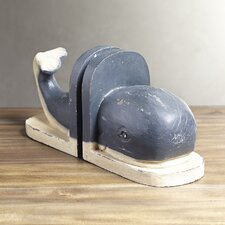 Moby Bookends (Set of 2)