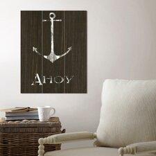Anchor Wood Wall Art