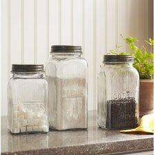 Weston 3-Piece Jar Set